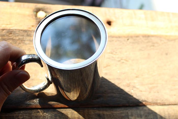 イギリスアンティークの銀コップ