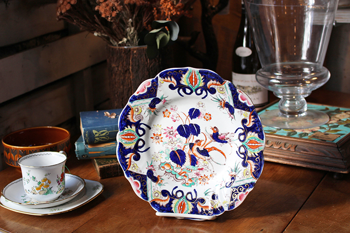 アンティークMASONSの皿