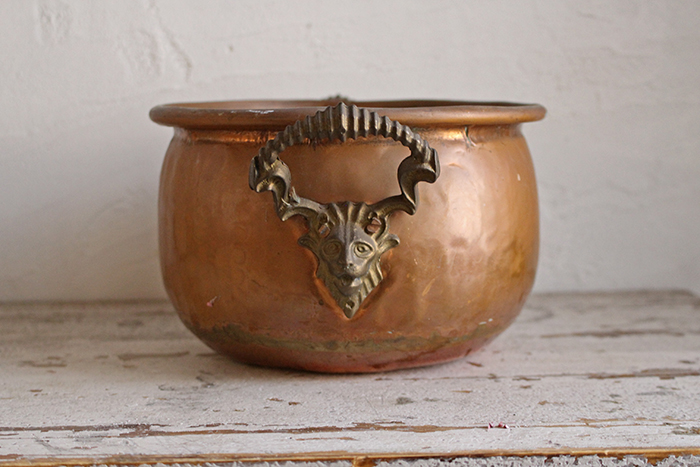 フランス銅製のハンドル