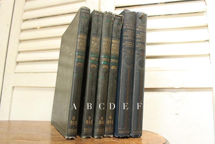 存在感のあるアンティークブック