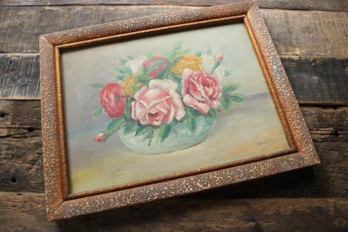 薔薇の美しい絵画