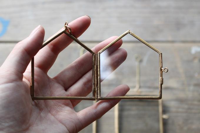 人気の真鍮×ガラス素材が素敵