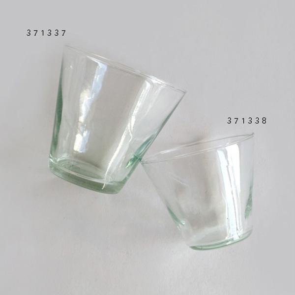 再生ガラスを使ったグラス