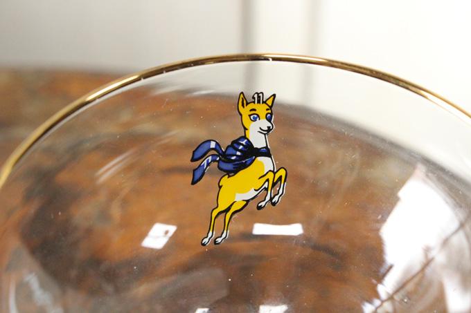 ビンテージフレンチリキュールガラス