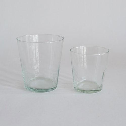 再生ガラスを使用したグラス