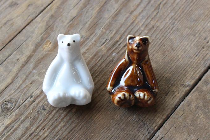 人気の白熊モチーフ
