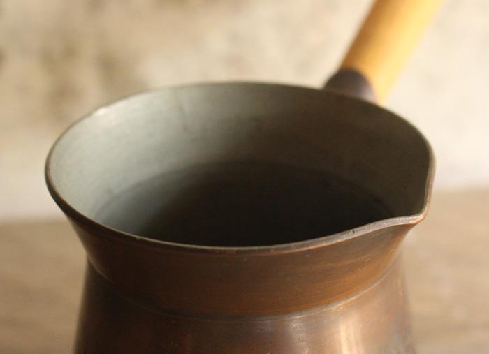 イギリス製の銅鍋