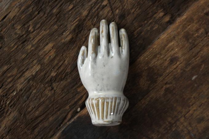 陶器製ハンド