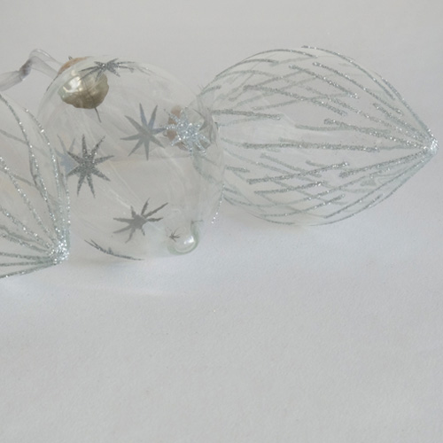 かわいいガラスのクリスマス雑貨