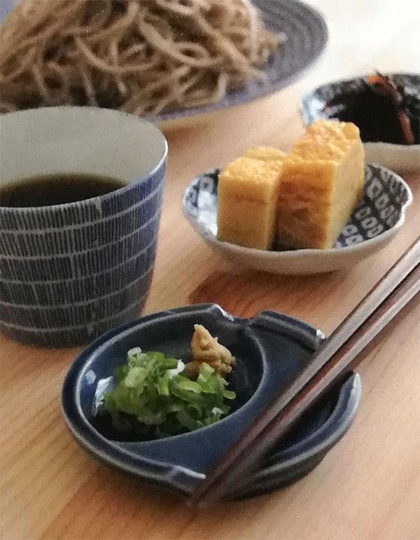 陶器箸おき