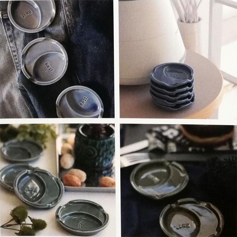 陶器の箸休め