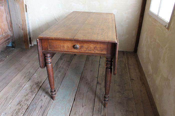 アンティークバタフライテーブル