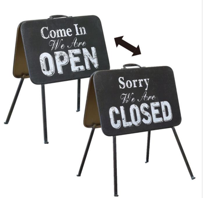オープンクローズサイン