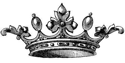 古い王冠のイラスト