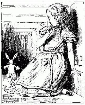 不思議の国のアリスの絵
