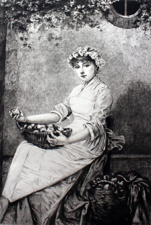 中世ヨーロッパの婦人画・イラスト