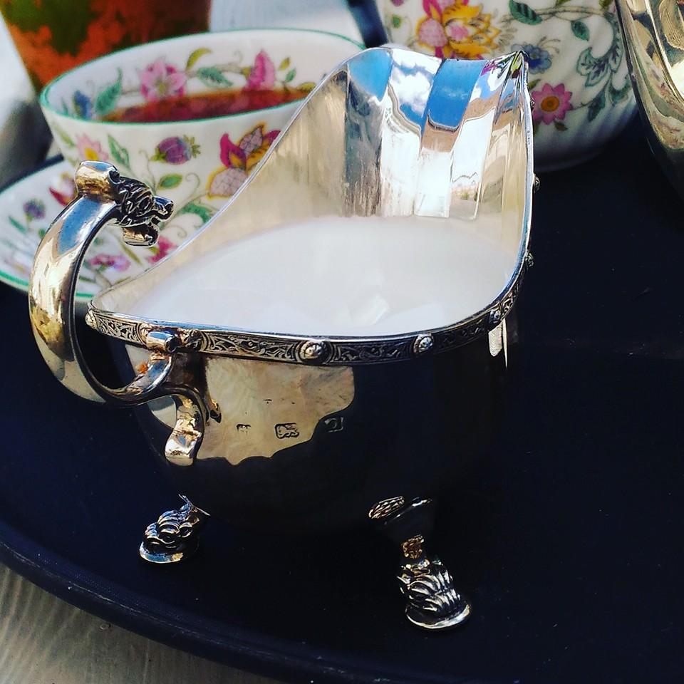 アンティークミルクジャグ