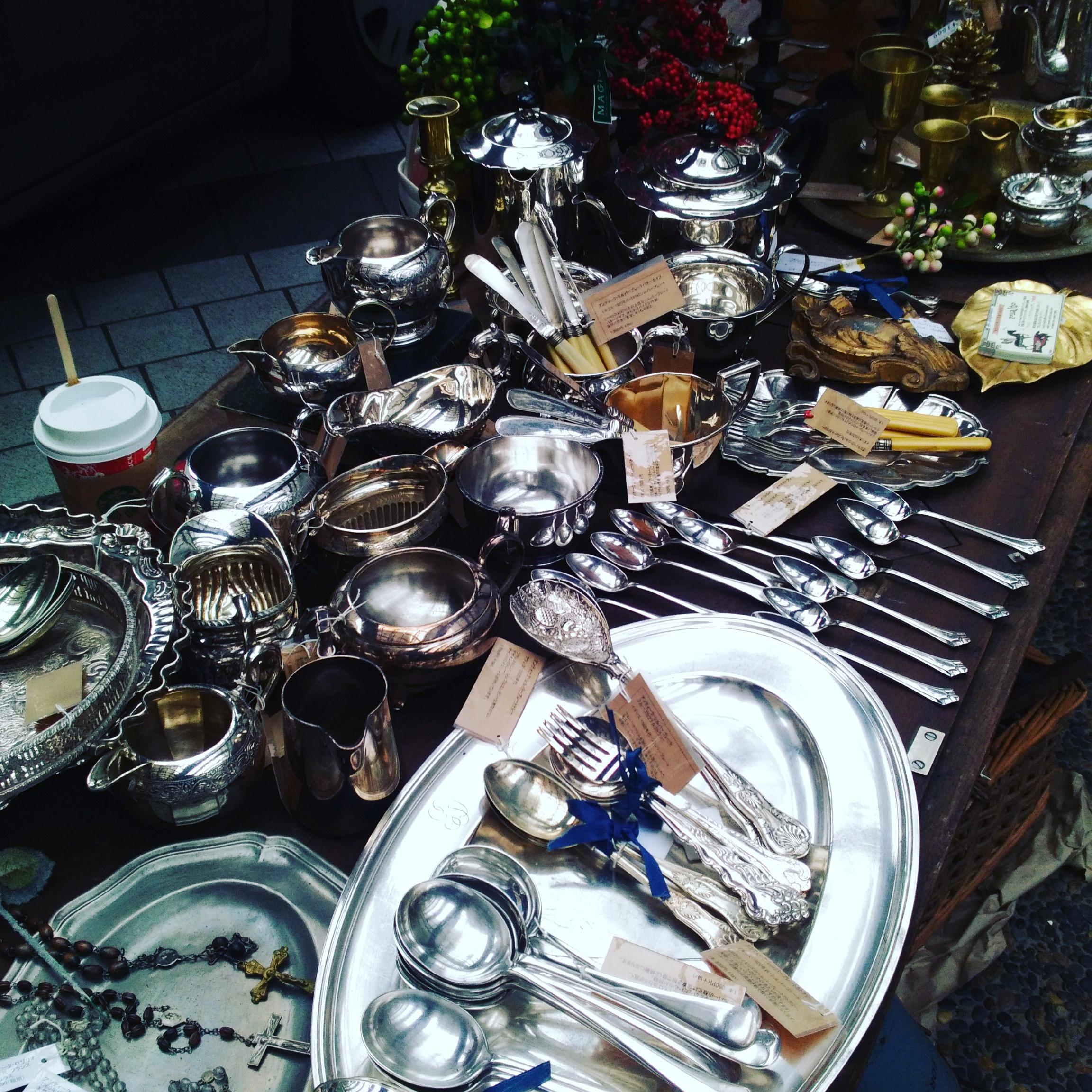 赤坂蚤の市のマルトのインテリア雑貨