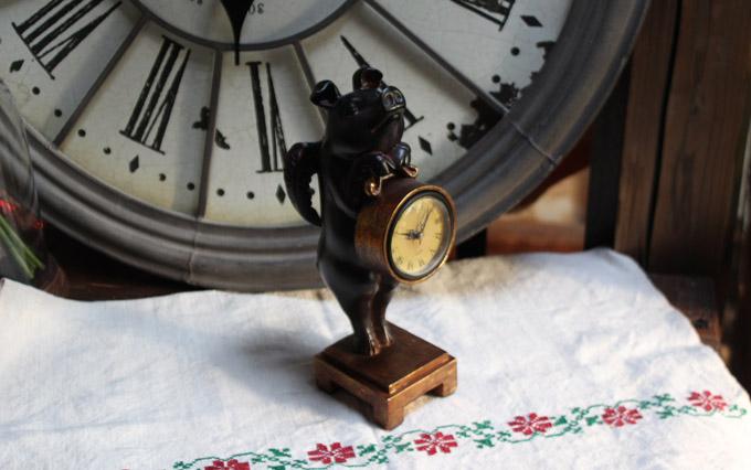 ブタの時計