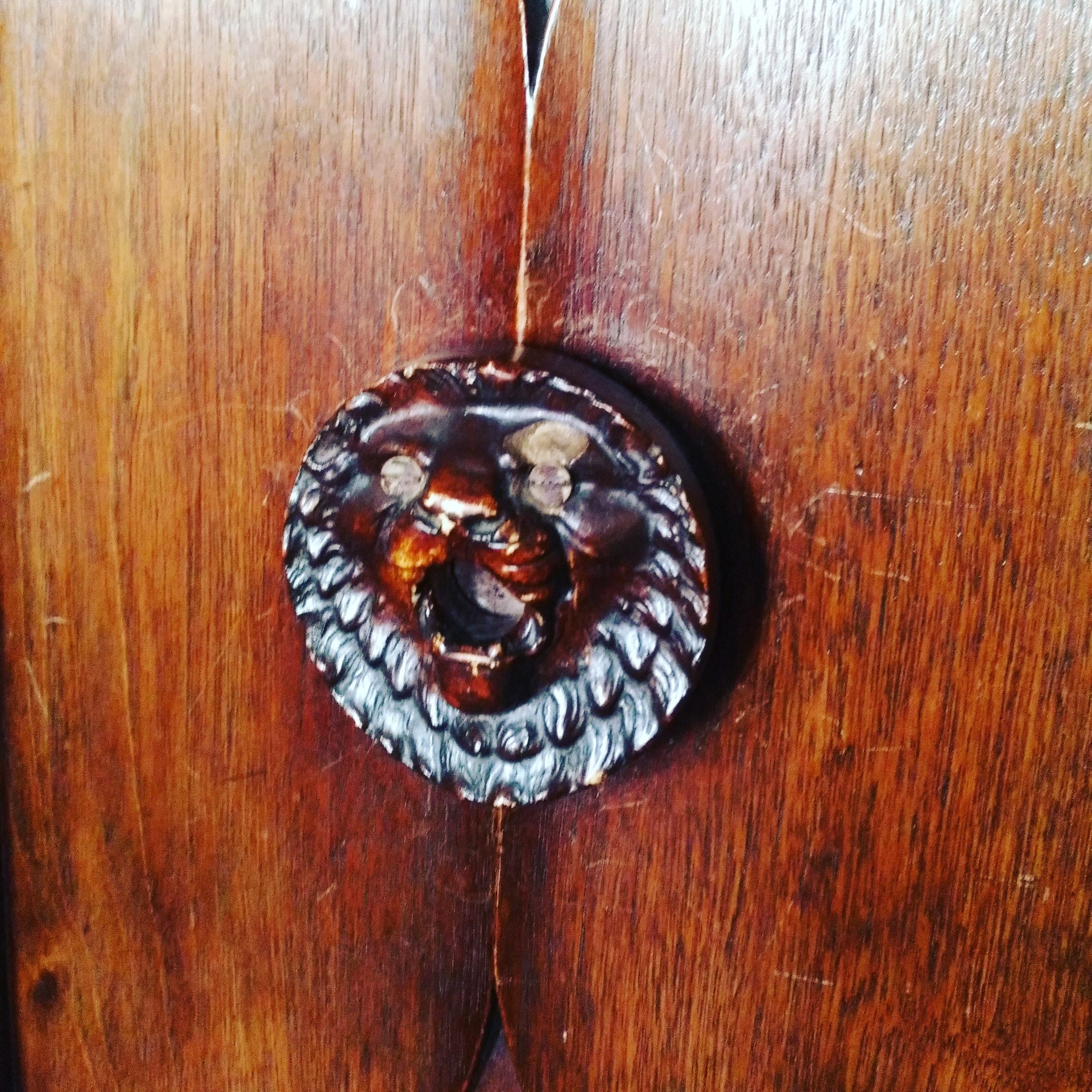 カーディフ城のライオンの鍵穴