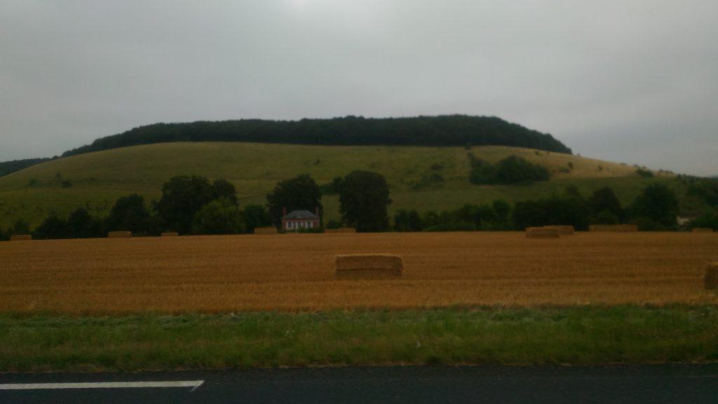 フランス牧歌的風景